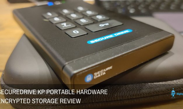 SecureDrive KP Portable Hardware Encrypted Storage Review