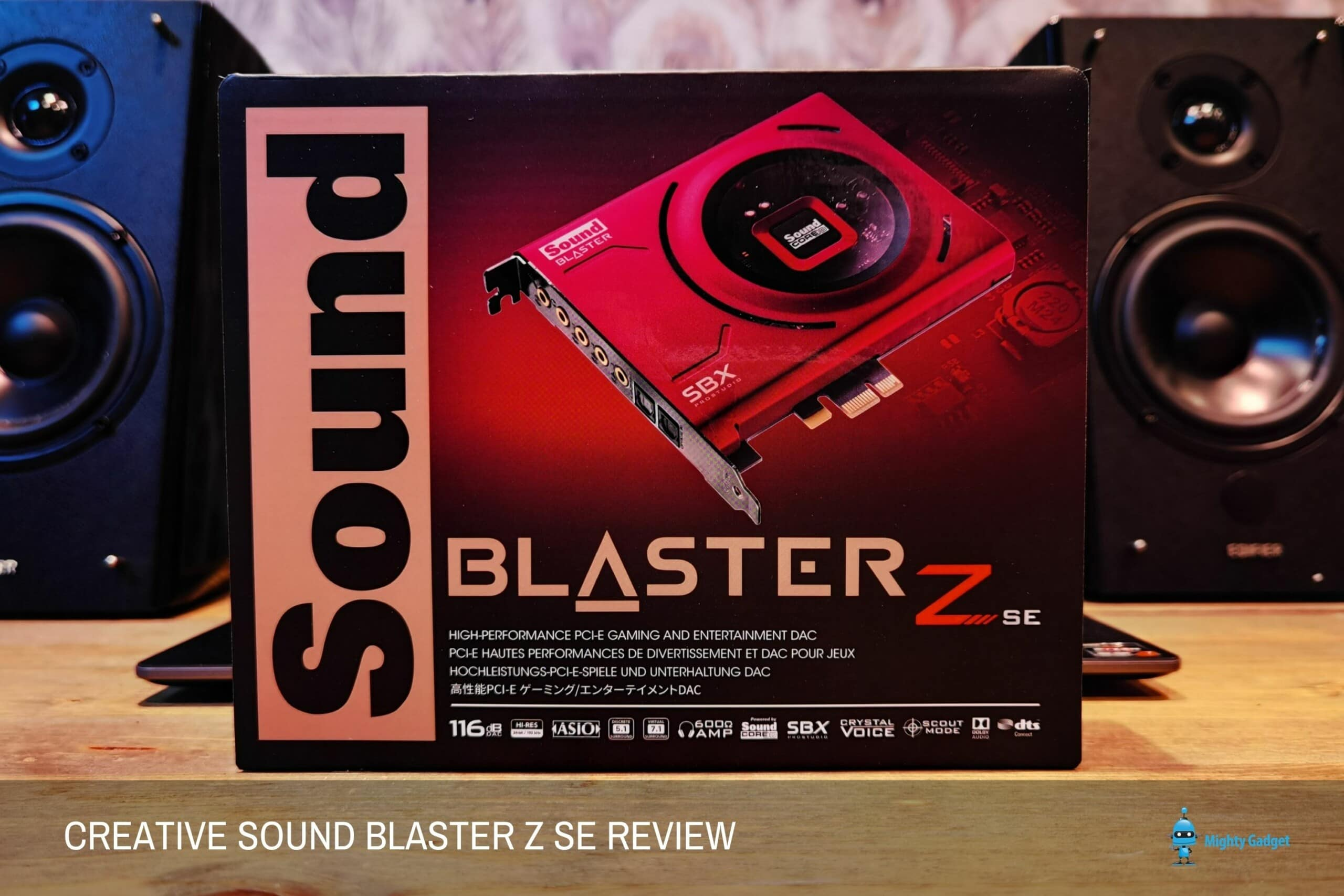 Creative Sound Blaster Z SE Review – An affordable alternative to a surround sound compatible USB DAC