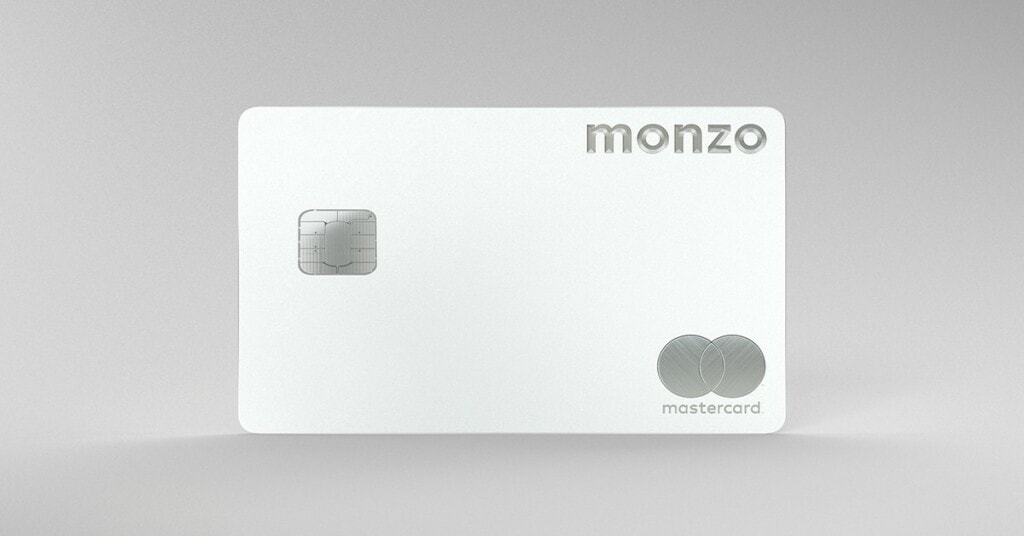 The Monzo Metal card